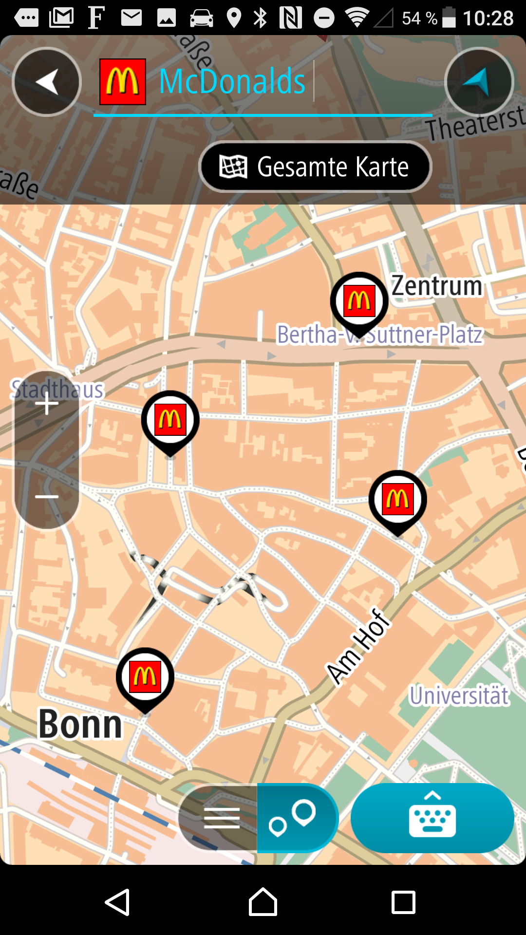 TomTom GO Mobile app (Android) compatible with POIbase - News