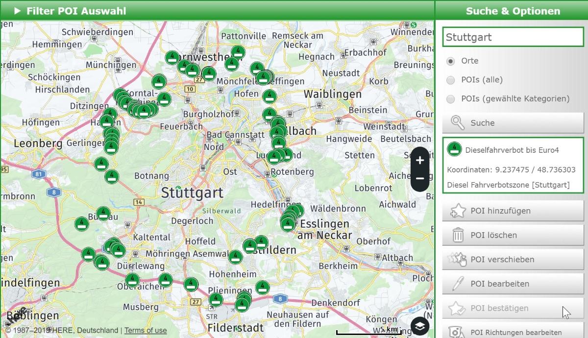 Dieselfahrverbot Stuttgart